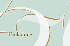 Schischek Einladung 50 | Außen Typografie (Detail 2)
