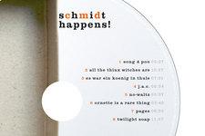 Schmidt happens! | Label | Detail: Typografie (Tracklist)